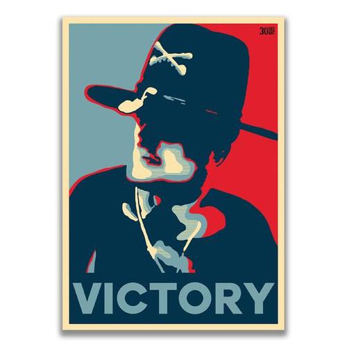 Colonel Kilgore Victory Sticker