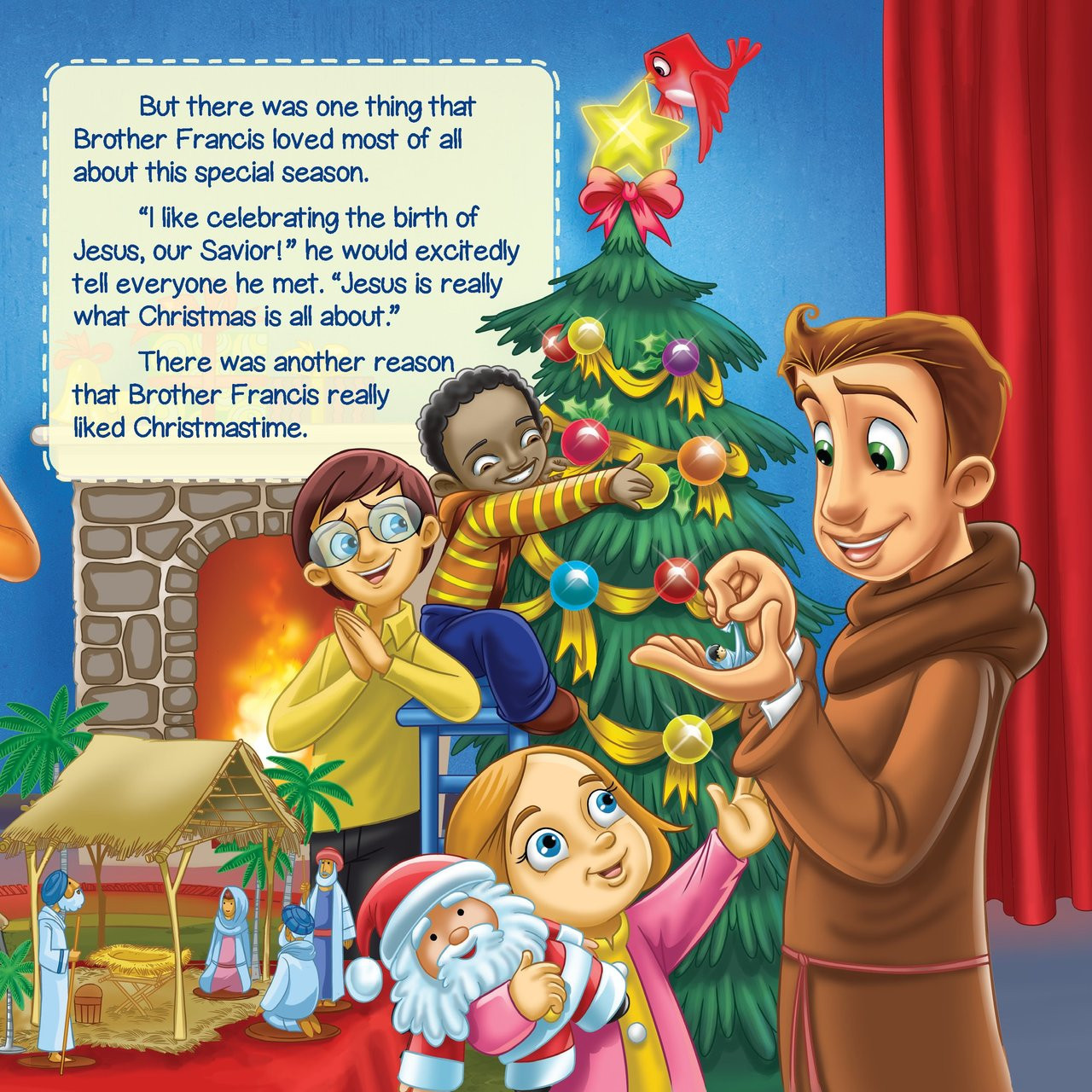 Christmas That Almost Wasn T.Brother Francis The Christmas Pageant That Almost Wasn T