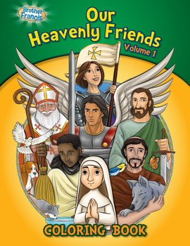 Coloring and Activity Book: Our Heavenly Friends (Vol 1)