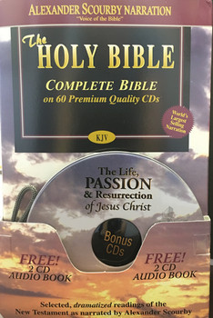 KJV Complete (CD) with Bonus CDs