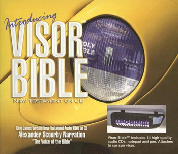 "KJV New Testament by Scourby (CD) ""Visor Bible"""