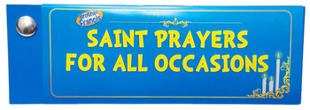 The Catholic Saint Prayers for All Occasions Devotional Fan