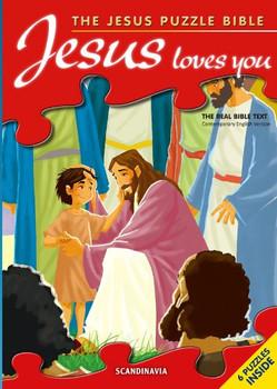 Jesus Loves You (Jesus Puzzle Bible)