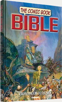 The Comic Book Bible (Vol 2) From Jacob to Moses - Hardcover