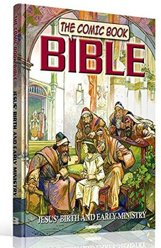 The Comic Book Bible (Vol 3) Jesus' Birth and Early Ministry - Paperback