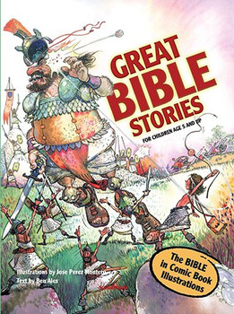 Great Bible Stories (Comic Book Bible - for Children Age 5 and up) Paperback