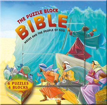 The Puzzle Block Bible: Moses and the People of God