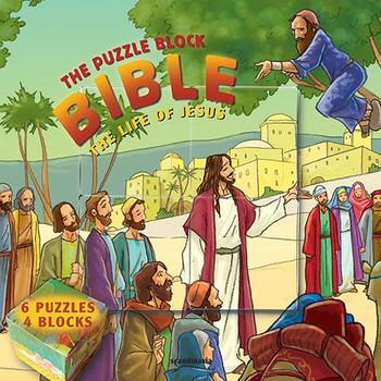 The Puzzle Block Bible: The Life of Jesus