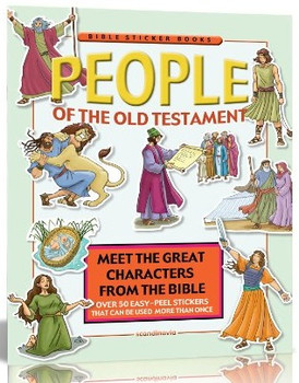 People of the Old Testament (Static Sticker Bible)