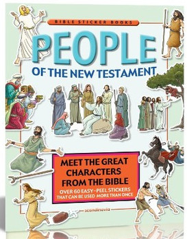 People of the New Testament (Static Sticker Bible)