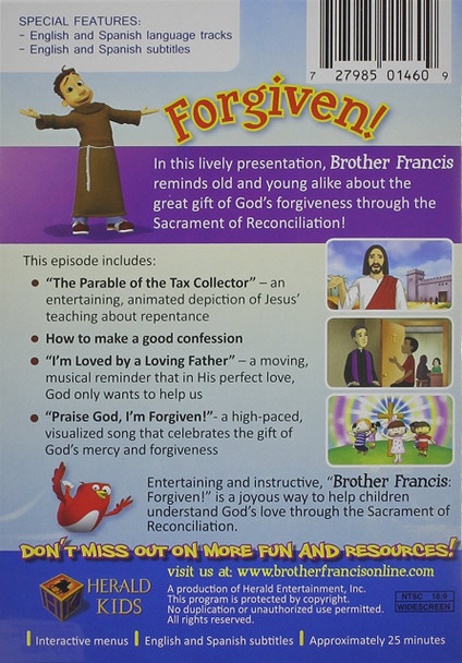 Brother Francis - Forgiven!