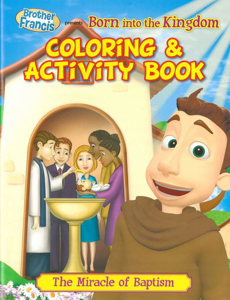 Coloring and Activity Book: Born Into The Kingdom