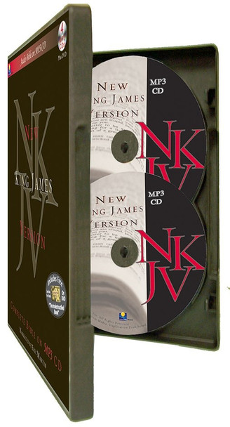 NKJV Complete Bible by Eric Martin (MP3)
