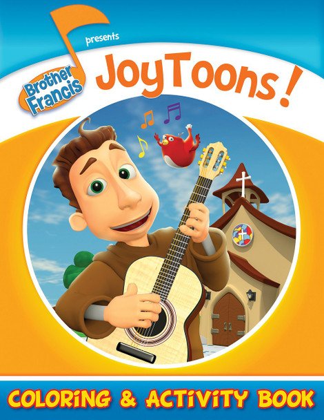 Coloring and Activity Book: JoyToons!