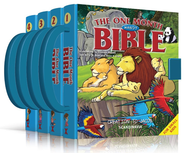 One Month Handy Children's Bible - 4 Samson to Goliath