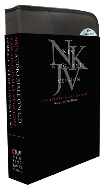 NKJV Complete Bible (CD) by Eric Martin (60 Discs)