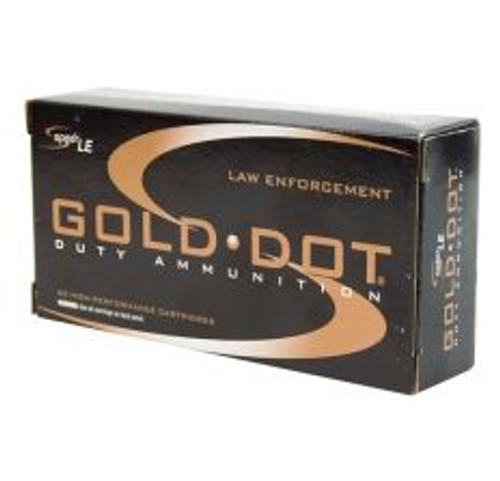 SPEER 24445SP .223 REMINGTON 62GR GOLD DOT AMMUNITION 20RDS