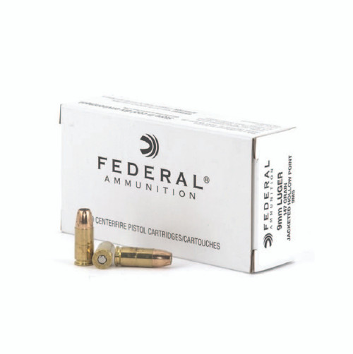 Federal 9MS Personal Defense 9mm 147gr Hi-Shok Jacketed Hollow Point (JHP) - 50rds