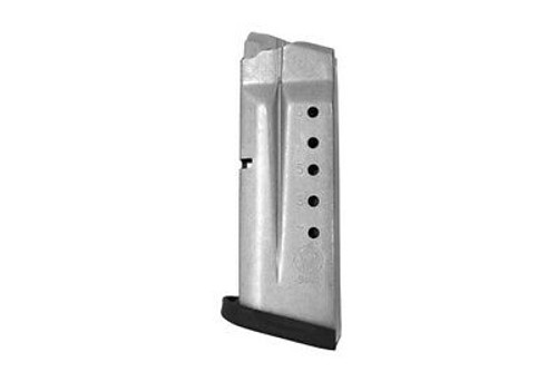 Black Smith & Wesson 7 Round 9MM Magazine - Fits: Smith & Wesson M&P Shield
