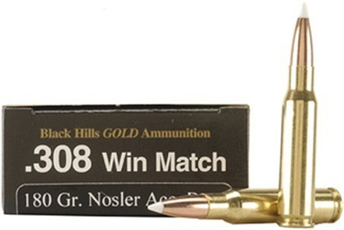 Black Hills Gold .308WIN 168gr Hornady ELD Match - 20RDS