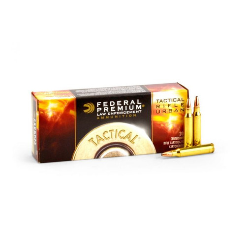 Federal Premium T223A LE Tactical TRU .223REM 55gr Hi-Shok Soft Point - 20rds