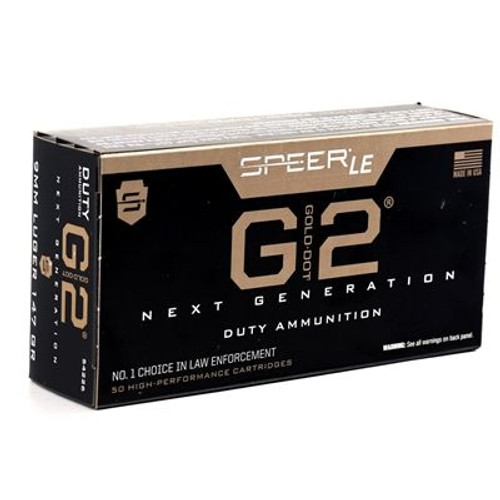 Speer 54226 Gold Dot 9MM 147GR GDHP 50rds