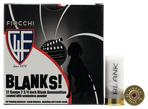 "Fiocchi 12BLANK Shotgun Blank12 Gauge 2.75"" 25rds"