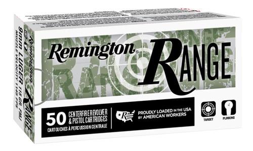 Remington Ammunition 28565 Range 9mm Luger 124 gr Full Metal Jacket (FMJ) 50rds