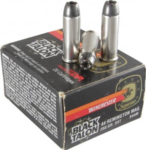 COLLECTIBLE - Black Talon 44 Remington Mag 250 Gr. SXT Ammo S44M - 20 Rounds