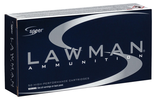 Speer Ammo 53955 Lawman 40 S&W 165 gr Total Metal Jacket (TMJ) 50rds