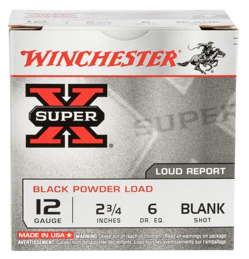 "BLANK BLANK BLANK - Winchester Ammo XBP12 Super-X Black Powder Load 12 Gauge 2.75"" 25rds"