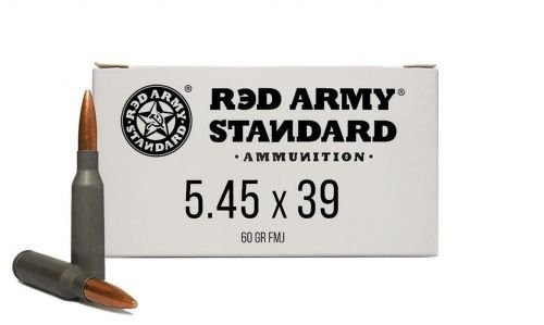 Red Army Standard AM3372 Red Army Standard 5.45x39mm 60 gr Full Metal Jacket (FMJ) 20rds