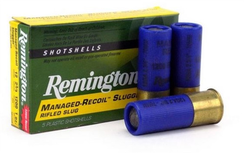 "FULL CASE - Remington Law Enforcement Ammunition 20285 Reduce Recoil Rifled Blue Hull Slugs 2 3/4"" - 250RDS"