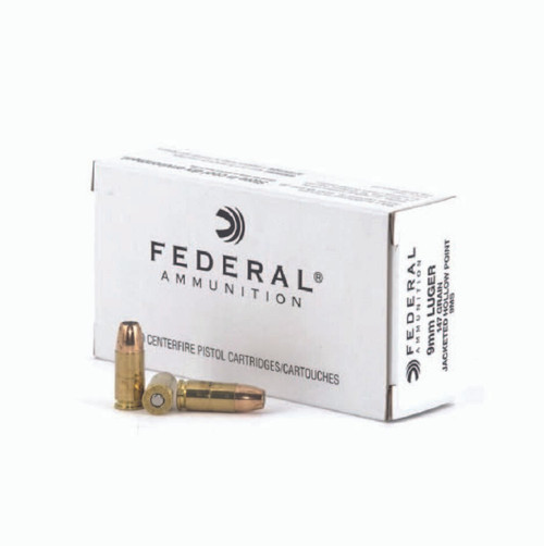 FULL CASE - Federal 9MS Personal Defense 9mm 147gr Hi-Shok Jacketed Hollow Point (JHP) - 1000rds