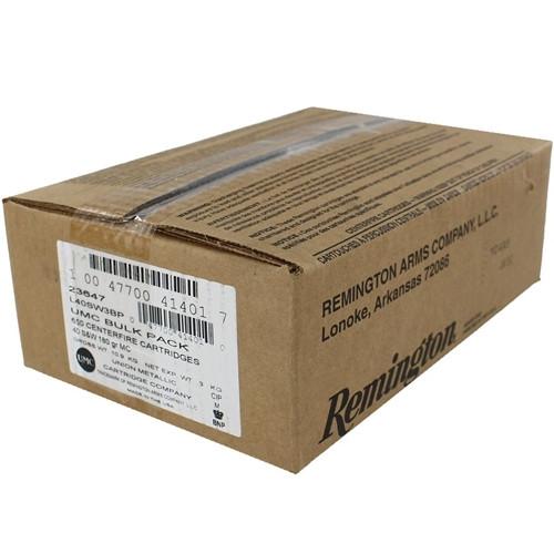 FULL CASE Remington Ammunition 23647 40S&W 180gr FMJ - 650rds Bulk Packed