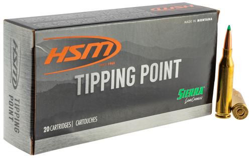 HSM 30847N Tipping Point 308 Win 165 gr Sierra GameChanger 20rds