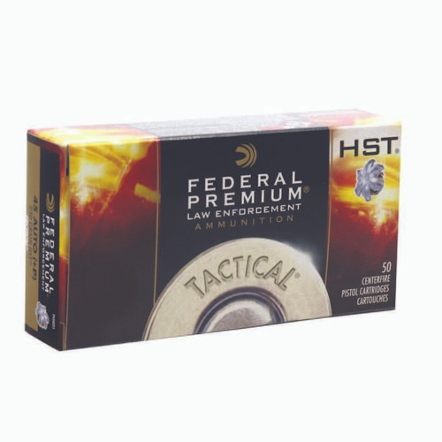 HALF CASE - Federal P45HST2 Personal Defense HST 45 ACP 230 gr HST Jacketed Soft Point - 500RDS