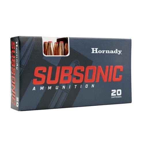 Hornady 82742 Subsonic 45-70 Gov 410 gr Sub-X 20rds