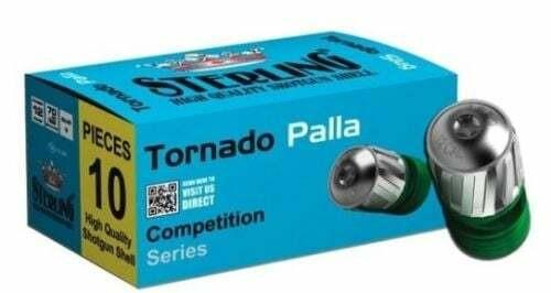FULL CASE - Sterling 12 Gauge 2-3/4″ 1-5/32oz Competition Series Rifled Tornado Slug - 200rds