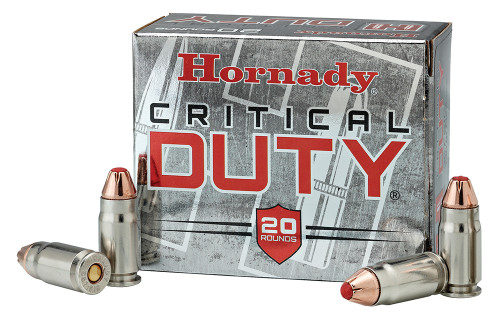 Hornady 91376 Critical Duty 40 S&W 175 gr FlexLock - 20rds
