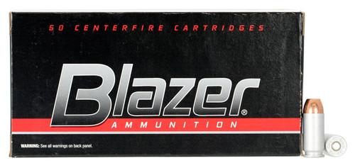 CCI 3589 Blazer 40 S&W 165 gr Total Metal Jacket ALUMINUM CASE - 50rds