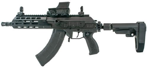 "IWI US GAP36SB Galil Ace Gen2 7.62x39mm 8.30"" 30+1 Black Rec/Barrel Black SBA3 Pistol Stabilizing Brace Stock Black Polymer Grip Right Hand"