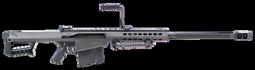 "Barrett 13316 M82A1 50 BMG 29"" 10+1 Black Cerakote Black Fixed w/Sorbothane Recoil Pad Stock Black Polymer Grip"
