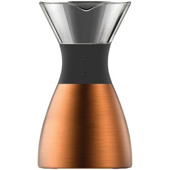 ASOBU 32-Ounce PourOver Insulated Coffee Maker (Copper/Black)
