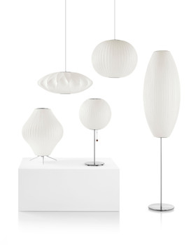 Nelson Ball Crisscross Bubble Pendant Lamp
