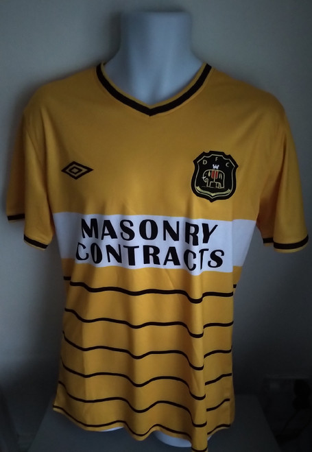 Dumbarton Home 1985-86