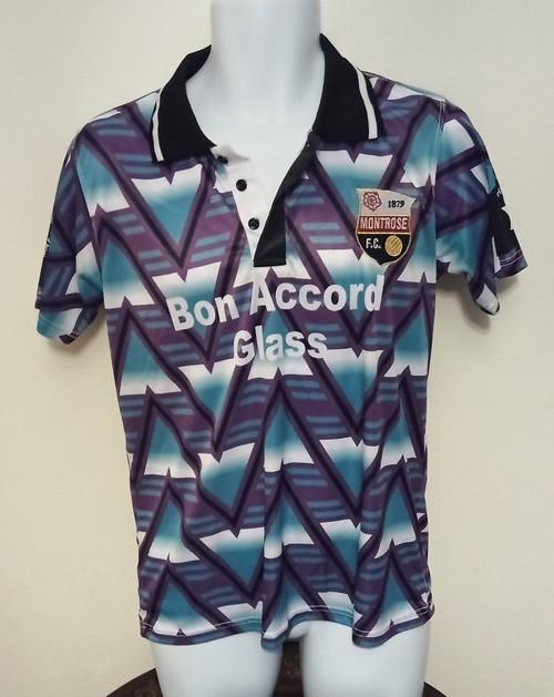 Montrose Away 1992-93