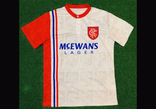 Rangers Away 1996-97