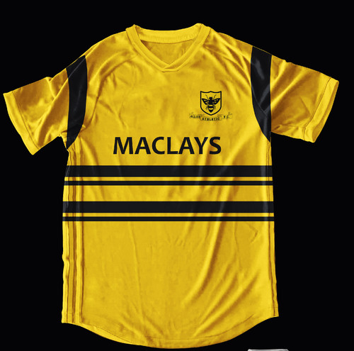 Alloa Athletic Home 1985-86