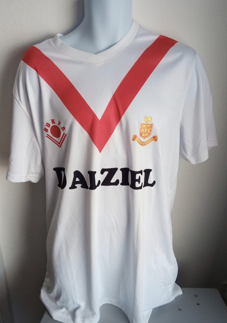 Airdrieonians Home 1989-92